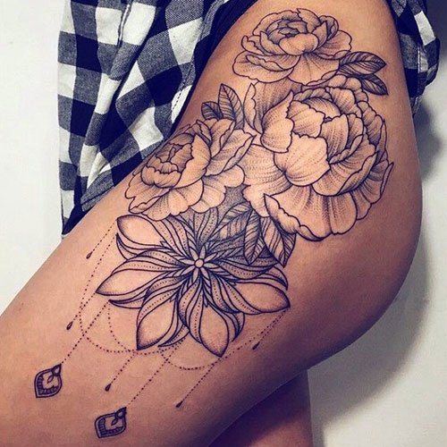 Thigh Tattoo Designs