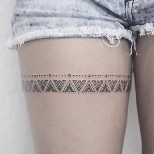 Thigh Tattoo Ideas For Women