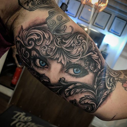 Unique Bicep Tattoo Designs