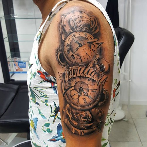 Unique Half Arm Sleeve Tattoo Ideas For Guys