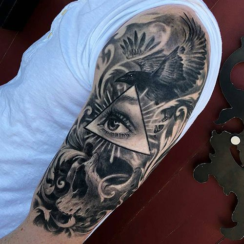Unique Half Sleeve Tattoo Ideas