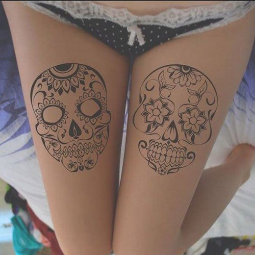 Upper Thigh Tattoo Ideas