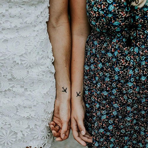 Awesome Best Friend Wrist Tattoos