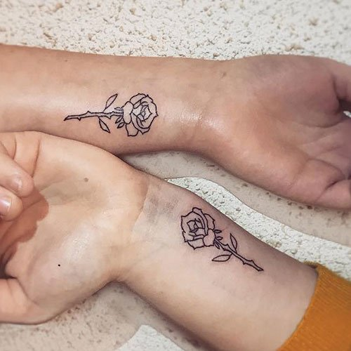Matching BFF Tattoos