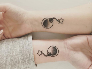 Matching Bestfriend Tattoos