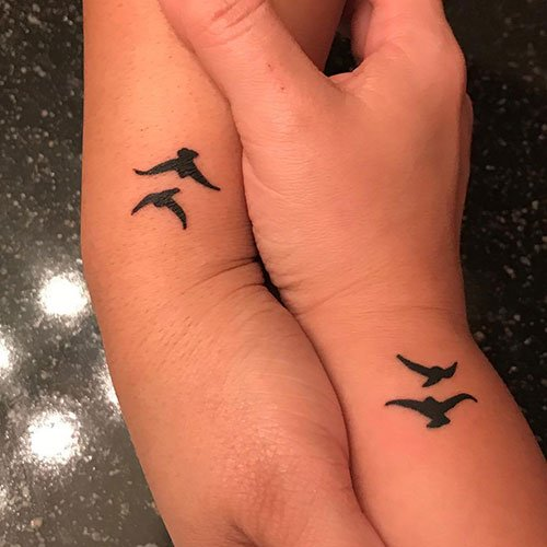 Matching Bird Tattoo Ideas