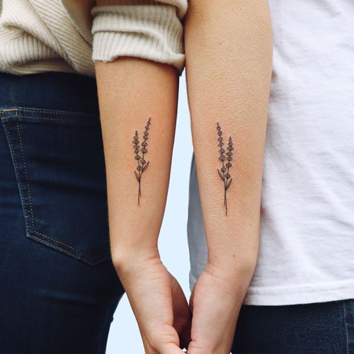 Matching Friend Tattoos