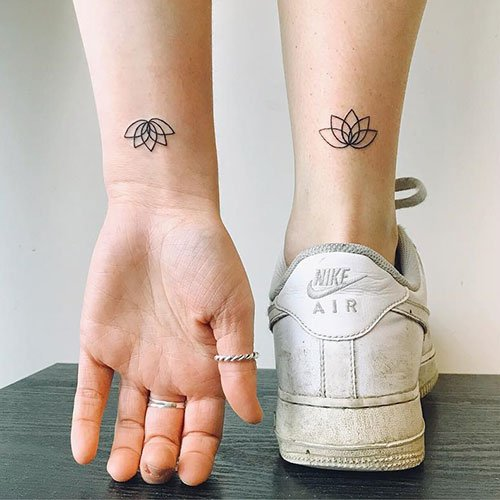 Simple Ankle Tattoo