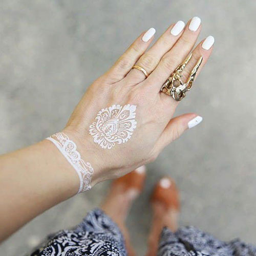 Best White Ink Tattoo For Women