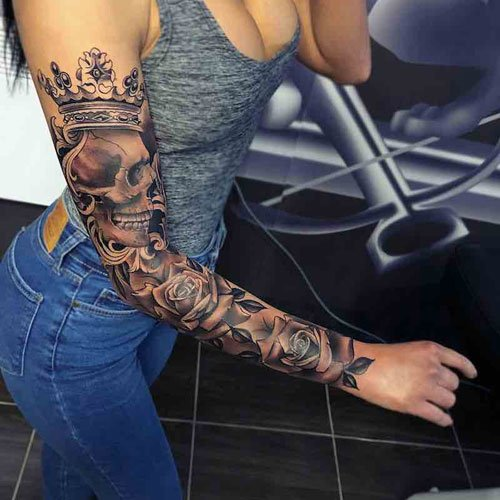 Badass Women's Tattoos