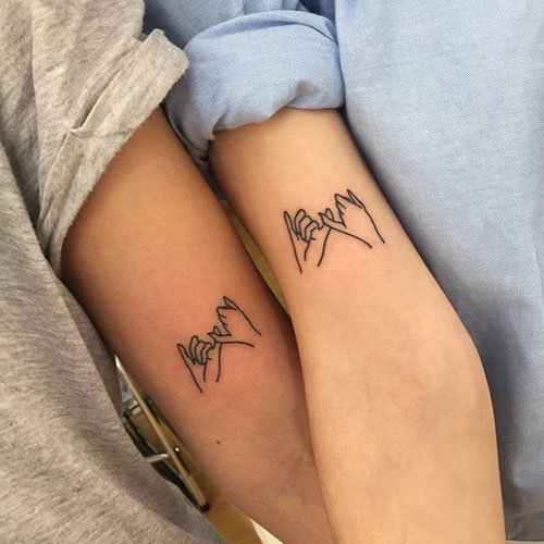 Best Matching Best Friend Tattoos