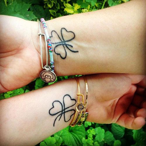 Best Matching Mother Daughter Tattoos