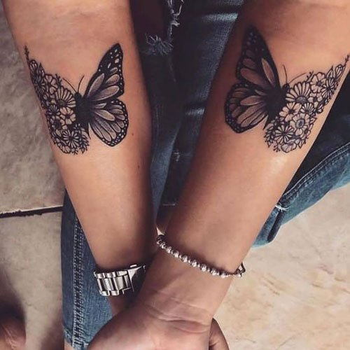 Butterfly Tattoo Ideas For Women
