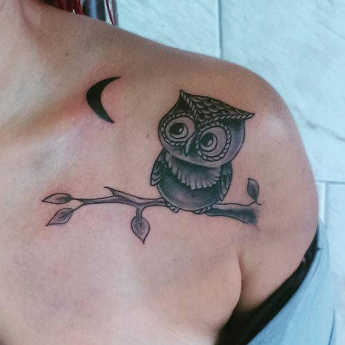 Cool Owl Tattoo Ideas For Women