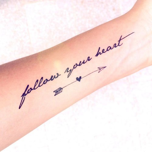 Cute Arrow Tattoo Ideas For Women