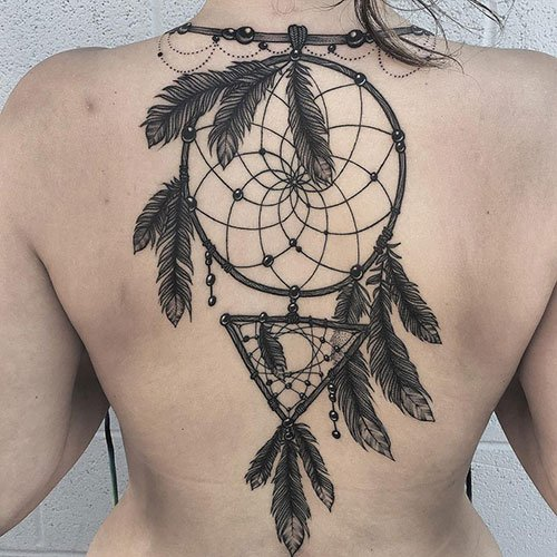 Cute Dream Catcher Tattoo Ideas For Women