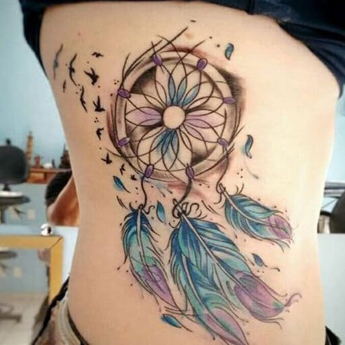 Dream Catcher Tattoo Ideas For Women