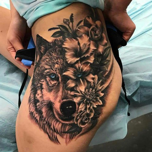 Hip Tattoo Ideas For Girls