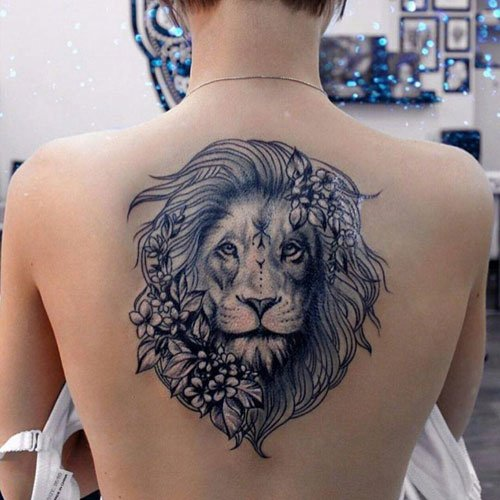 Lion Tattoo Ideas For Girls