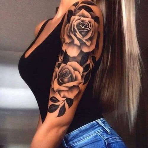 Sexy Arm Tattoos For Girls