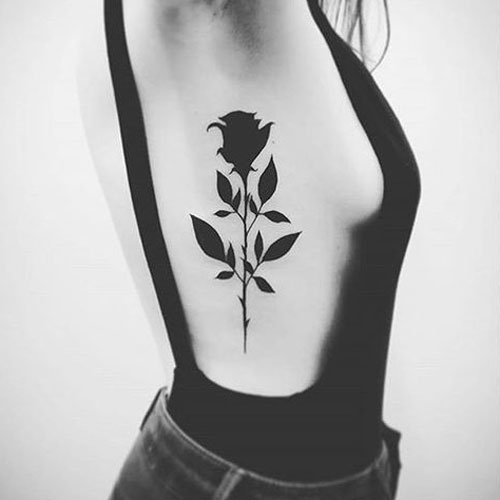 Sexy Rib Tattoos For Women