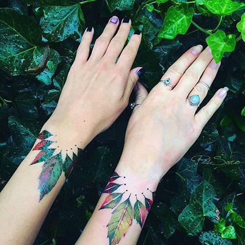 Unique Mother Daughter Tattoo Designs