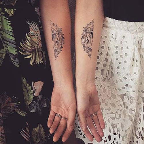 Unique Mother Daughter Tattoos