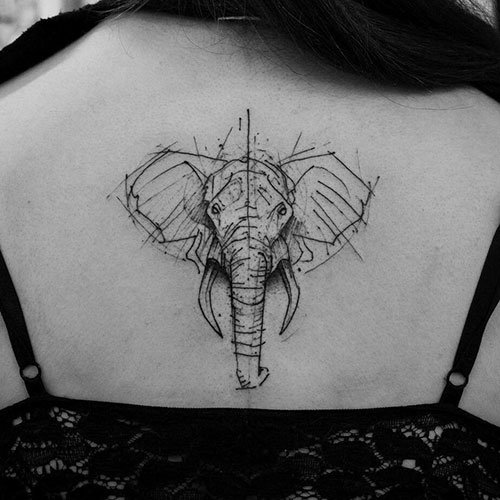 Best Elephant Back Tattoo