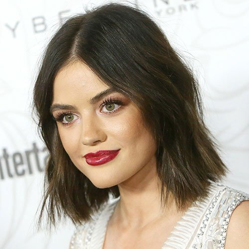 Blunt Cut Bob Haircut For Thick Hair