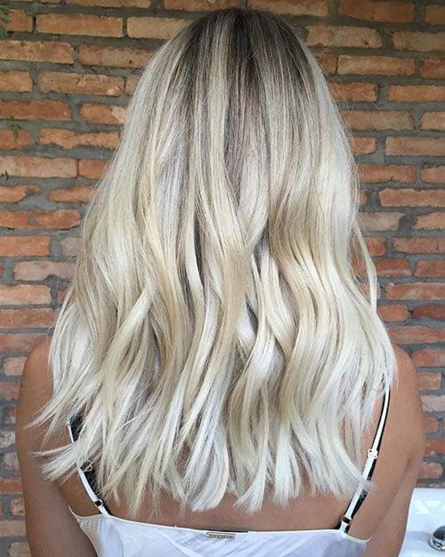 Blunt Cut Long Hair