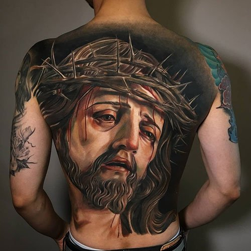 Christian Jesus Tattoo