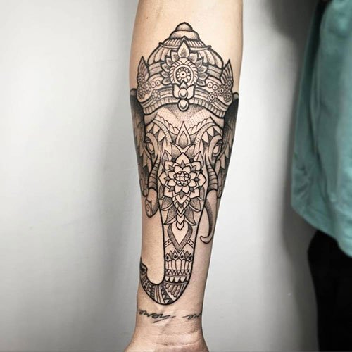 Cool Elephant Tattoo Ideas For Men and Women