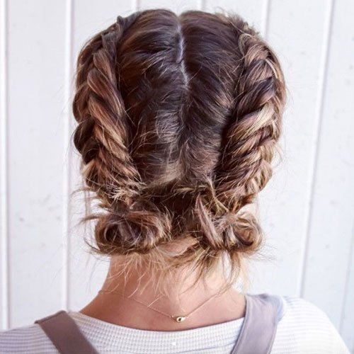 59 Cute Easy Updos For Short Hair 2020 Styles