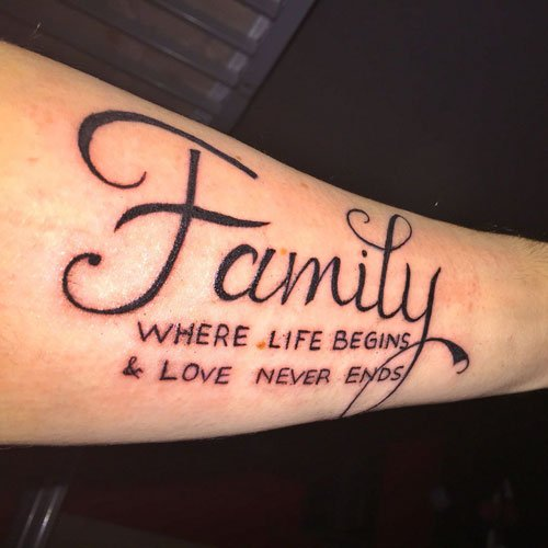 Family Tattoo
