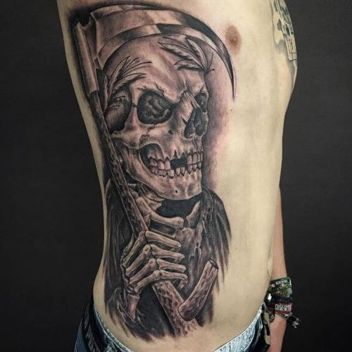Grim Reaper Tattoo Ideas For Men