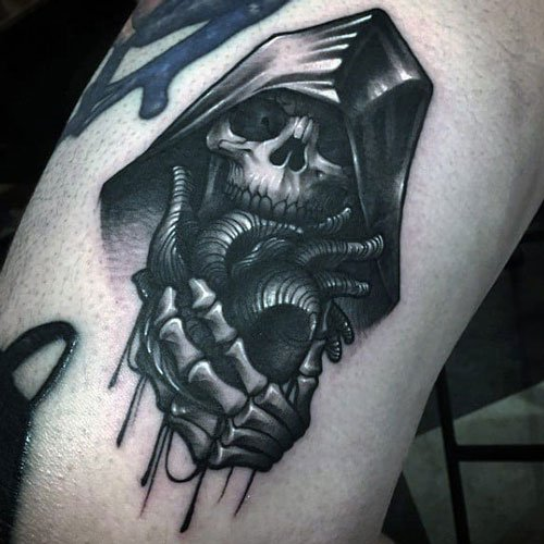 Grim Reaper Tattoo