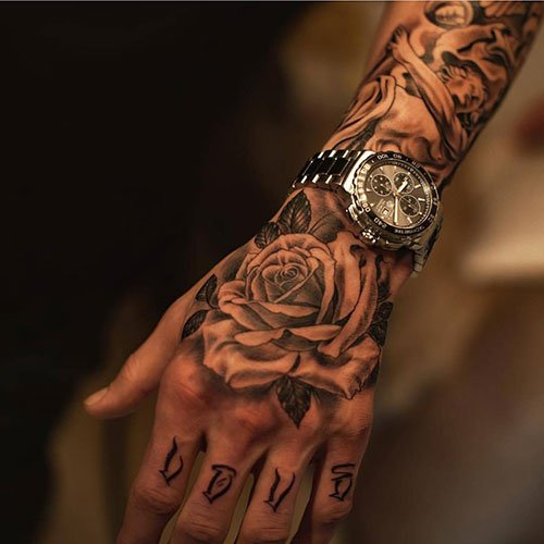 Hand Tattoo Ideas For Men