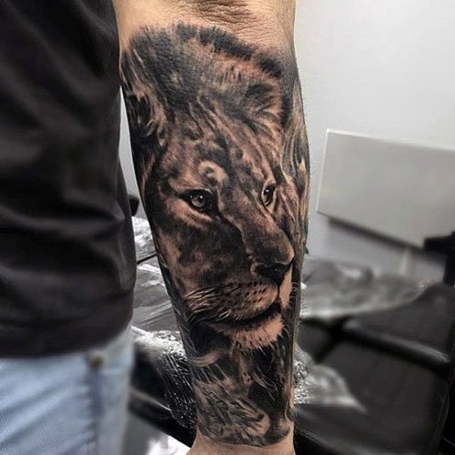 Lion Tattoo Ideas For Men