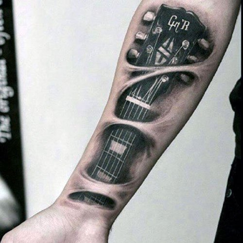 Music Tattoo Ideas For Men