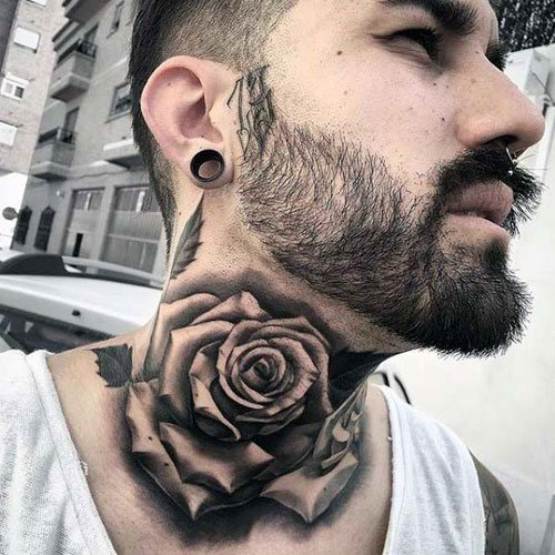 Neck Tattoo Ideas For Men