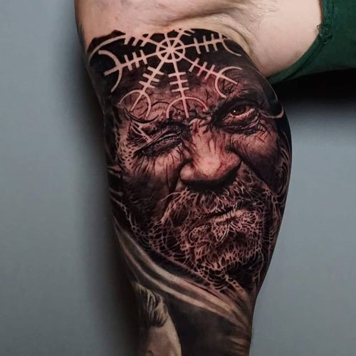 Norse God Tattoo Ideas For Men
