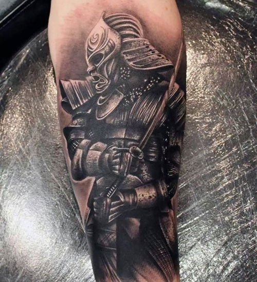 Samurai Warrior Tattoo Ideas For Men
