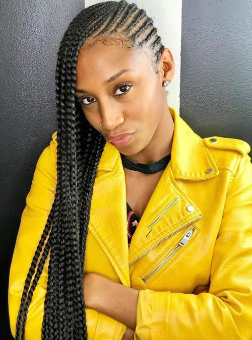 Small Lemonade Braids