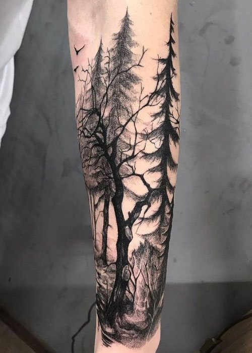 Tree Tattoo Ideas For Men