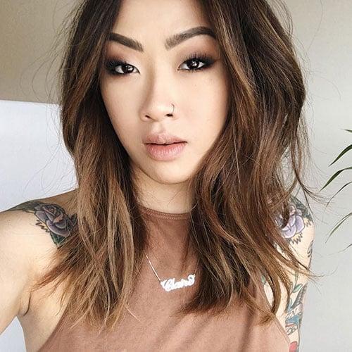 Asian Long Bob