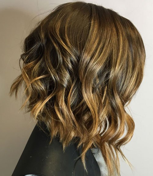 Asymmetrical Hairstyles with Layers