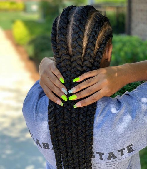 50 Cool Cornrow Braid Hairstyles To Get In 2020
