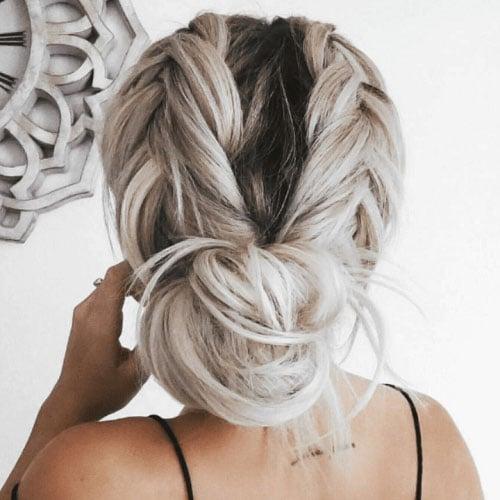 Bohemian Updos For Short Hair