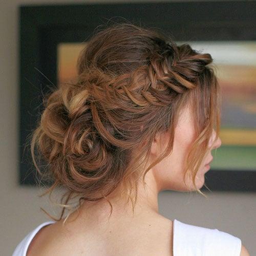 Bridesmaid Updos For Short Hair