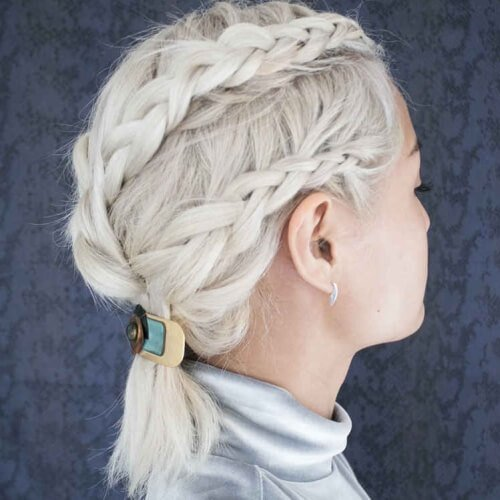 Casual Updo Hairstyles For Short Hair